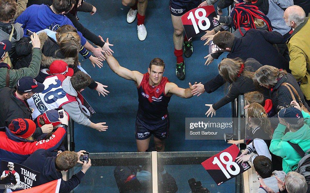 AFL Rd 22 - Melbourne v Adelaide