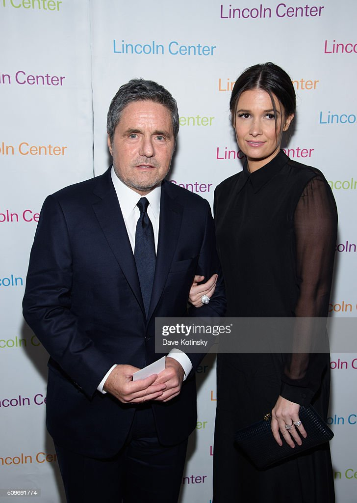Brad Grey and Cassandra Huysentruyt arrive at Lincoln Center's American Songbook Gala Honors Lorne Michaels at Lincoln Center for the Performing Arts on February 11, 2016 in New York City.