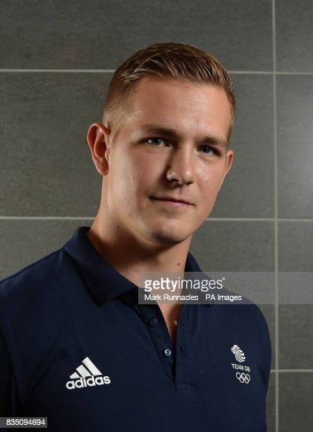 Brad Hall during the PyeongChang 2018 Olympic Winter Games photocall at Heriot Watt University Oriam PRESS ASSOCIATION Photo Picture date Friday...