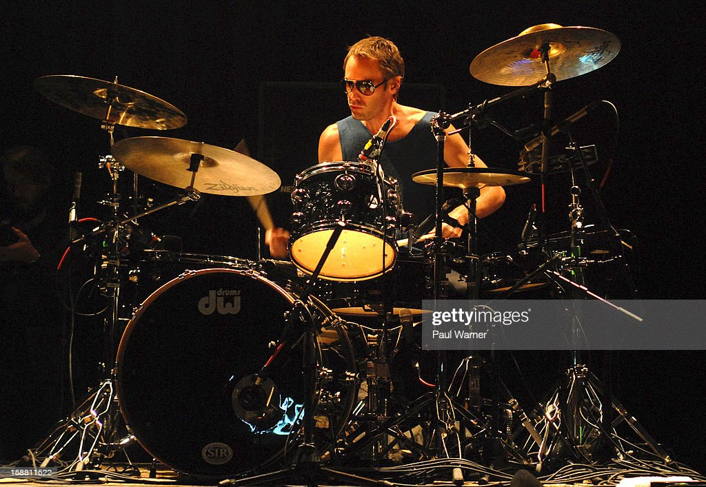 <a gi-track='captionPersonalityLinkClicked' href=/galleries/search?phrase=Brad+Hargreaves&family=editorial&specificpeople=608973 ng-click='$event.stopPropagation()'>Brad Hargreaves</a> of Third Eye Blind performs with the band at The Fillmore on December 29, 2012 in Detroit, Michigan.