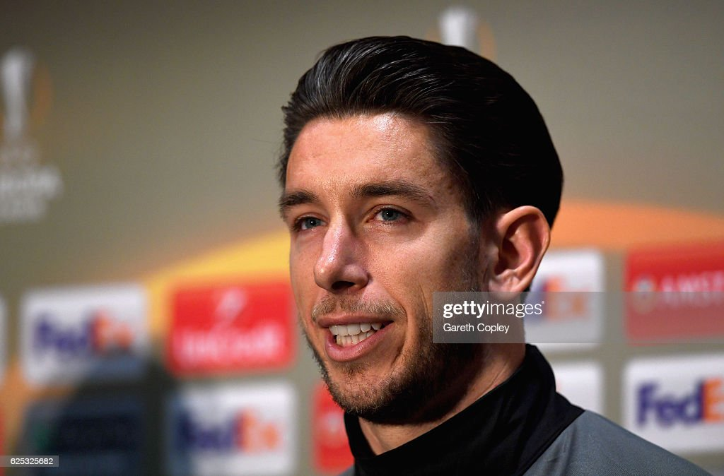 Feyenoord Training Session and Press Conference