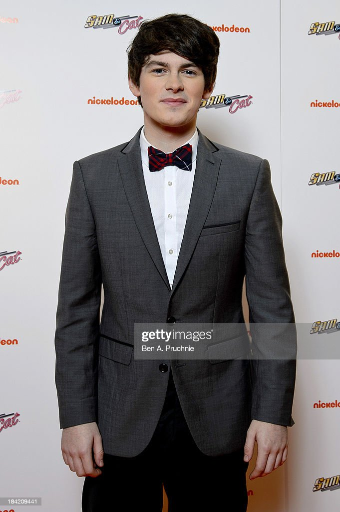 Brad Kavanagh attends the UK Premiere of Sam & Cat at Cineworld 02 Arena on October 12, 2013 in London, England.