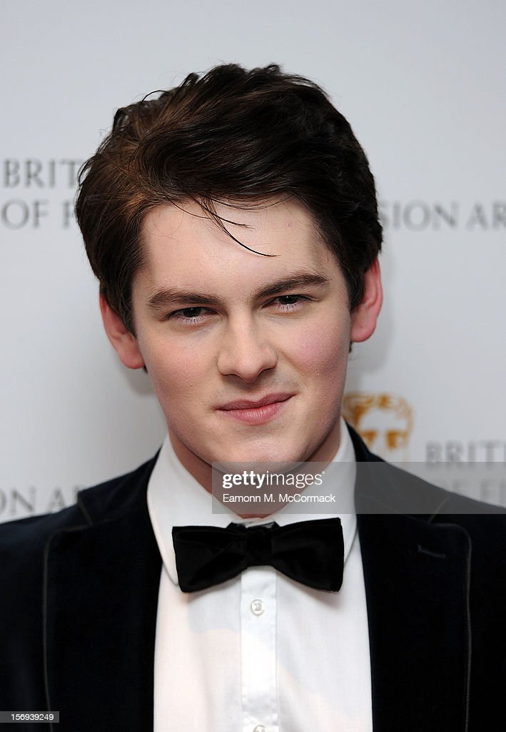 Brad Kavanagh of Nickelodeon's House of Anubis attends 2012 Children's BAFTA Awards at Hilton Park Lane on November 25, 2012 in London, England.