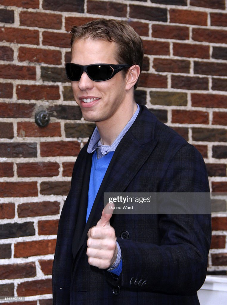 <a gi-track='captionPersonalityLinkClicked' href=/galleries/search?phrase=Brad+Keselowski&family=editorial&specificpeople=890258 ng-click='$event.stopPropagation()'>Brad Keselowski</a> arrives for 'The Late Show with David Letterman' at Ed Sullivan Theater on November 20, 2012 in New York City.