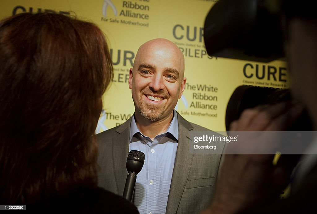 Brad Keywell, co-founder of Groupon Inc., attends the 19th Annual White House Correspondents' Garden Brunch in Washington, D.C., U.S., on Saturday, April 28, 2012. This year's event will raise money for the Citizens United for Research in Epilepsy (CURE) and The White Ribbon Alliance for Safe Motherhood organizations. Photographer: Andrew Harrer/Bloomberg via Getty Images