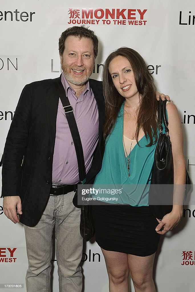 Brad Lubman and Lauren Radnofsky attend the Lincoln Center Festival And Gotham Magazine Celebration of Monkey: Journey To The West at Hudson on July 9, 2013 in New York City.