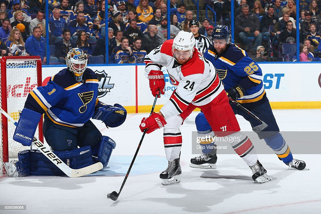 Resultado de imagen para St. Louis Blues vs Carolina Hurricane