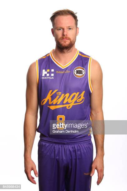Brad Newley of the Sydney Kings poses during the 2017/18 NBL Media Day at Crown Entertainment Complex on September 11 2017 in Melbourne Australia