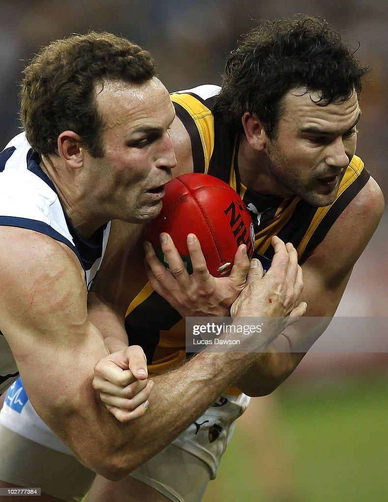 AFL Rd 15 - Cats v Hawks