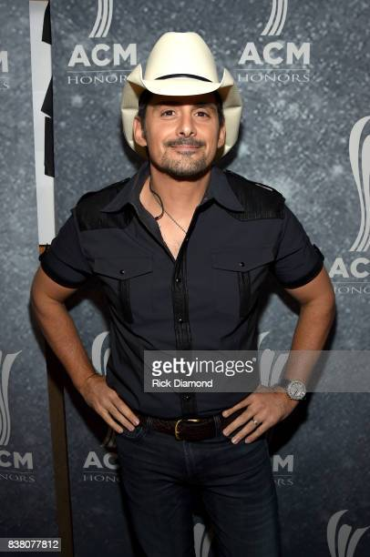 Brad Paisley attends the 11th Annual ACM Honors at the Ryman Auditorium on August 23 2017 in Nashville Tennessee