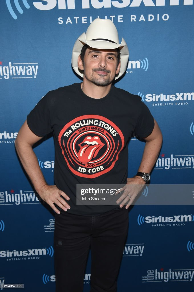 Brad Paisley Performs at a 'Last Time For Everything Graduation Party for graduating seniors Live on SiriusXM's The Highway Channel At SiriusXM's Music City Theatre in Nashville at the Bridgestone Arena on June 9, 2017 in Nashville, Tennessee