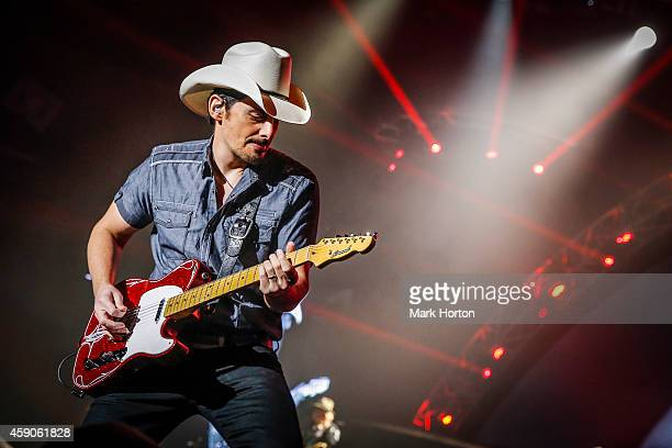 Brad Paisley performs live at the KRock Centre on November 15 2014 in Kingston Canada