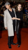 Brad Pitt And Angelina Jolie Arriving For The European Film Premiere Of Beowulf At Vue Leicester Square Central London