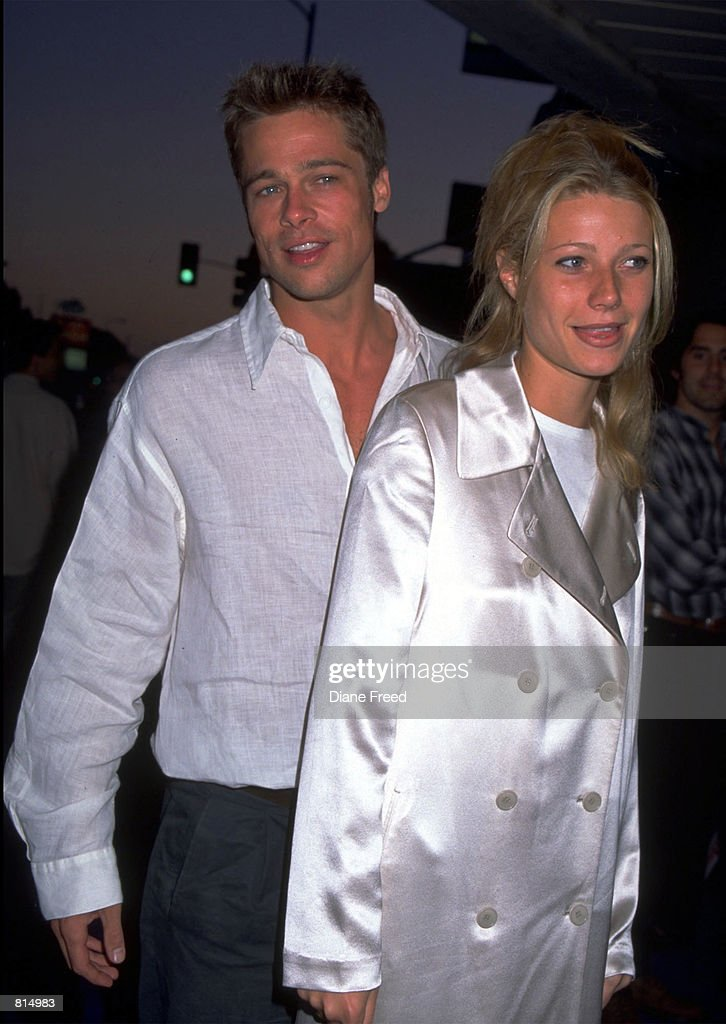 Brad Pitt and Gwyneth Paltro