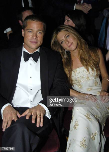 Brad Pitt and Jennifer Aniston *Exclusive*
