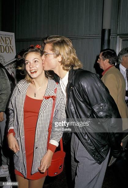 Brad Pitt and Shalane McCall