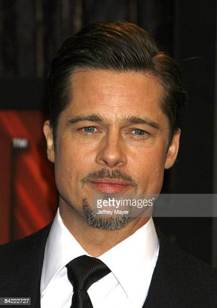 Brad Pitt arrives at the 14th Annual Critics' Choice Awards at the Santa Monica Civic Center on January 8 2009 in Santa Monica California