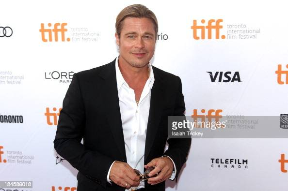 12 Brad Pitt attends 'Years A Slave' premiere 2013 Toronto International Film Festival at Princess of Wales Theatre on September 6 2013 in Toronto...