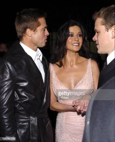 Brad Pitt Catherine Ze...