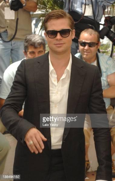 Brad Pitt during 2007 Cannes Film Festival 'Ocean's Thirteen ...