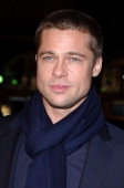 Brad Pitt during 'Along Came Polly' Los Angeles Premiere at Mann's Chinese Theater in Hollywood California United States
