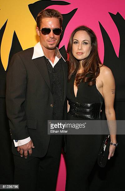 Brad Pitt impersonator Ryan Fraley of California and Angelina Jolie impersonator Tatiana Turan of California arrive at the 17th annual Reel Awards at...