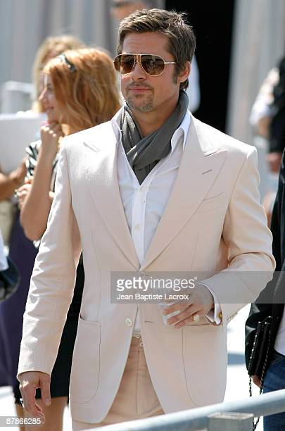 Brad Pitt Sighting on May 20 2009 in Cannes France