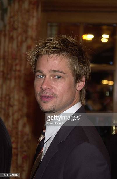 Brad Pitt The Brat Pack Turned Up In London To Launch Their New Movie 'Oceans Ii' At The Dorchester Hotel London