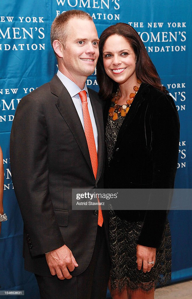 Brad Raymond and Soledad O'Brien attend New York Women's Foundation 25th Anniversary Celebration at Alice Tully Hall on October 23, 2012 in New York City.