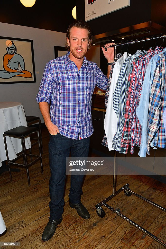 Brad Richards Attends The Untuckit Press Conference Where