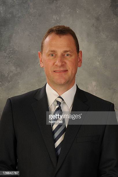 Brad Treliving of the Phoenix Coyotes poses for his official headshot for the 20102011 NHL season