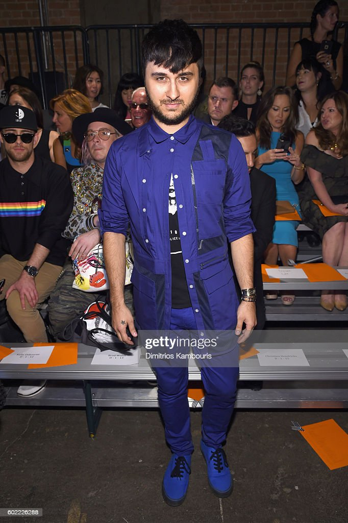 Christian Siriano - Front Row - September 2016 - New York Fashion Week: The Shows