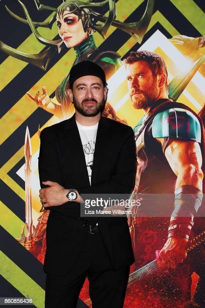 Brad Winderbaum arrives for the Australian Premiere of Thor Ragnarok on October 13 2017 in Gold Coast Australia