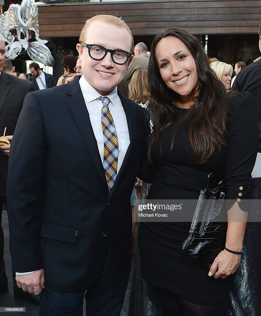 Brad Wollack (L) and Melissa Kubrin attend the Tuberous Sclerosis Alliance Comedy For A Cure 2013 at Lure on April 7, 2013 in Hollywood, California.