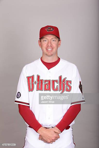 Brad Ziegler of the Arizona Diamondbacks poses during Photo Day on Wednesday February 19 2014 at Salt River Fields at Talking Stick in Scottsdale...