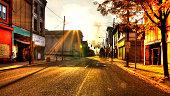 Braddock Ave at Sunrise