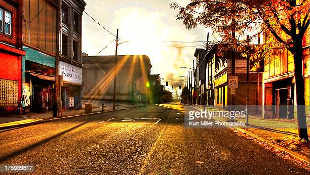 Braddock Ave at Sunrise