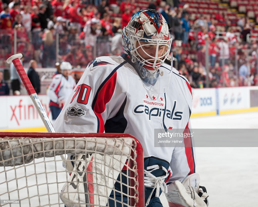 Washington Capitals v Detroit Red Wings