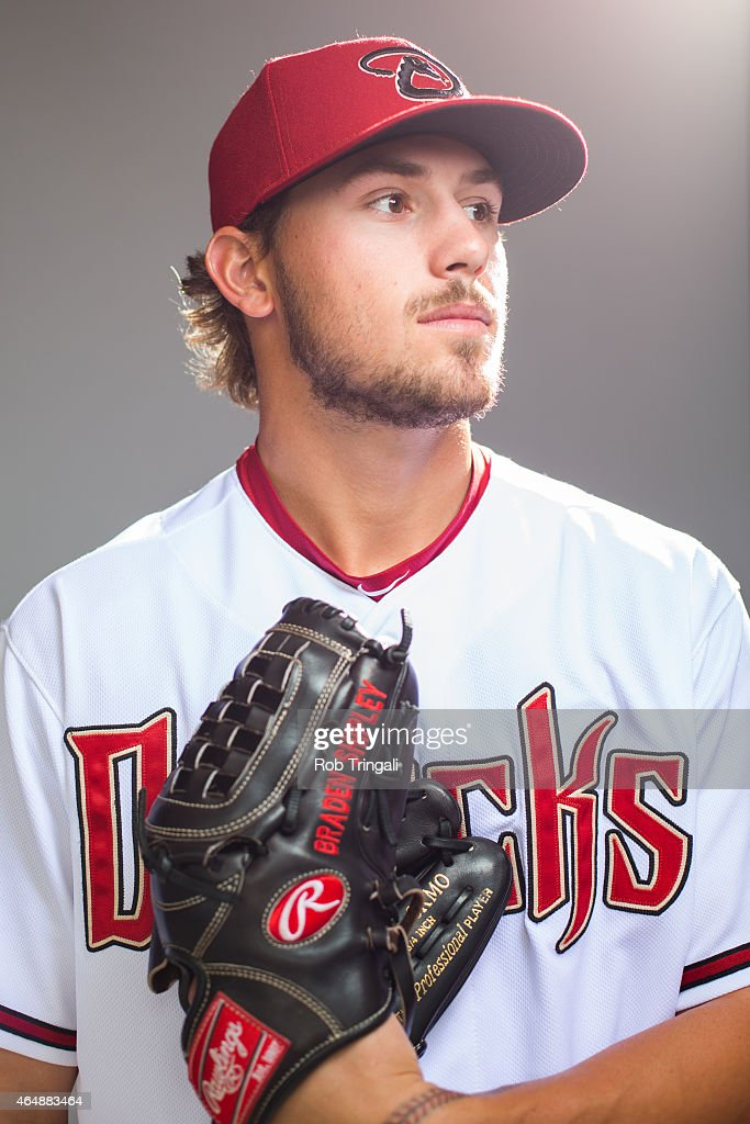 Braden Shipley #78 of the Arizona Diamondbacks poses during photo day at Salt River Fields at Talking Stick on March 1, 2015 in Scottsdale, Arizona.