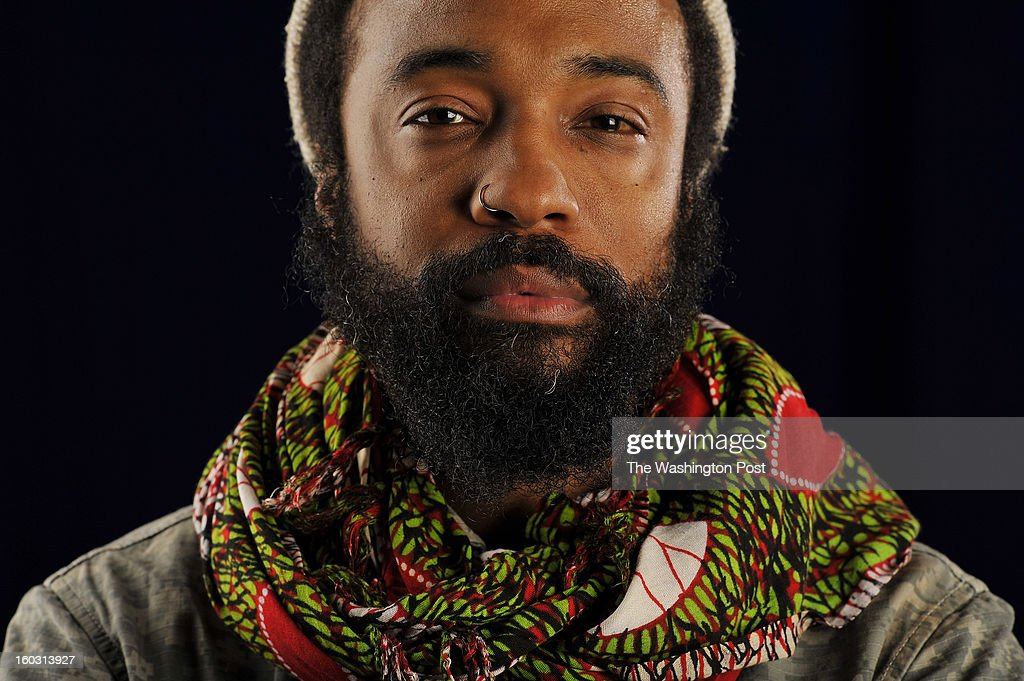 Bradford Young, poses for a portrait on the campus of Howard University on Monday January 28, 2013 in Washington, DC. Young won the Excellence in Cinematography at the Sundance Film Festival for his work on 'Mother of George', and 'Ain't them Bodies Saints'.