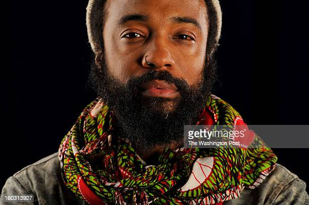 Bradford Young poses for a portrait on the campus of Howard University on Monday January 28 2013 in Washington DC Young won the Excellence in...