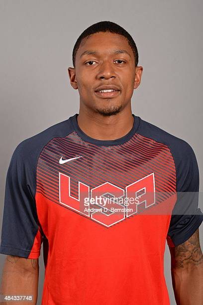 Bradley Beal of the USA National Team poses for a headshot at the Wynnn Las Vegas on August 10 2015 in Las Vegas Nevada NOTE TO USER User expressly...