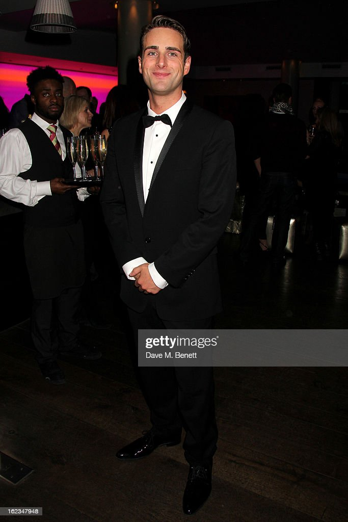 Bradley Clarkson attends 'The Tailor-Made Man' press night after party at the Haymarket Hotel on January 21, 2013 in London, England.