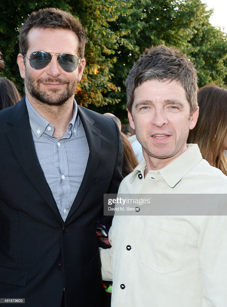 <a gi-track='captionPersonalityLinkClicked' href=/galleries/search?phrase=Bradley+Cooper&family=editorial&specificpeople=680224 ng-click='$event.stopPropagation()'>Bradley Cooper</a> (L) and <a gi-track='captionPersonalityLinkClicked' href=/galleries/search?phrase=Noel+Gallagher&family=editorial&specificpeople=209146 ng-click='$event.stopPropagation()'>Noel Gallagher</a> attend The Serpentine Gallery Summer Party co-hosted by Brioni at The Serpentine Gallery on July 1, 2014 in London, England.