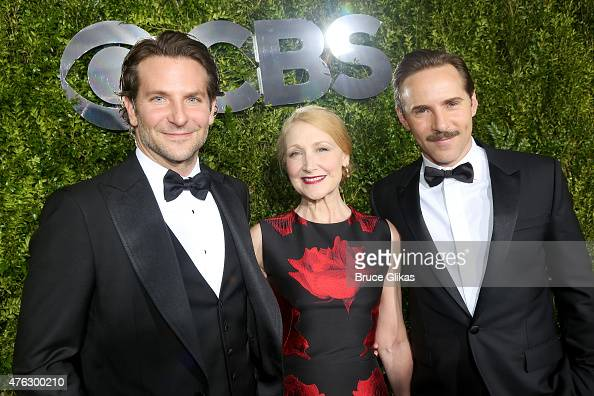 Bradley Cooper and Patricia Clarkson and Alessandro Nivola attend the American Theatre Wing's 69th Annual Tony Awards at Radio City Music Hall on...