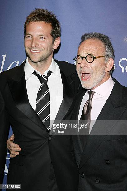 Bradley Cooper and Ron Rifkin during 15th Annual Alzheimer's Benefit 'A Night At Sardi's' at Beverly Hilton Hotel in Beverly Hills California United...
