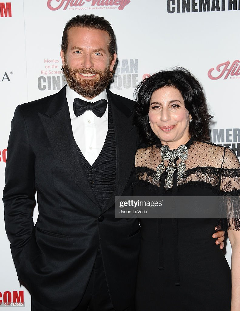 Bradley Cooper and Sue Kroll attend the 30th annual American Cinematheque Awards gala at The Beverly Hilton Hotel on October 14, 2016 in Beverly Hills, California.