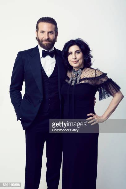 Bradley Cooper and Sue Kroll pose for a portrait at the 2016 American Cinematheque Awards on October 14 2016 in Beverly Hills California