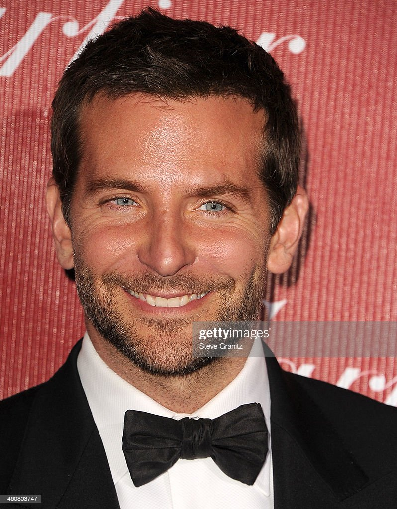<a gi-track='captionPersonalityLinkClicked' href=/galleries/search?phrase=Bradley+Cooper&family=editorial&specificpeople=680224 ng-click='$event.stopPropagation()'>Bradley Cooper</a> arrives at the 25th Annual Palm Springs International Film Festival Awards Gala at Palm Springs Convention Center on January 4, 2014 in Palm Springs, California.