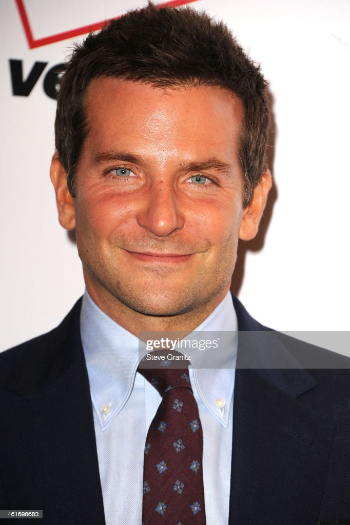 <a gi-track='captionPersonalityLinkClicked' href=/galleries/search?phrase=Bradley+Cooper&family=editorial&specificpeople=680224 ng-click='$event.stopPropagation()'>Bradley Cooper</a> arrives at the American Film Institute Awards Luncheon at Four Seasons Hotel Los Angeles at Beverly Hills on January 10, 2014 in Beverly Hills, California.